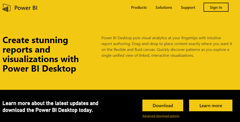 Power BI Desktop - Download 2